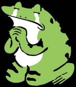 カエル 涙